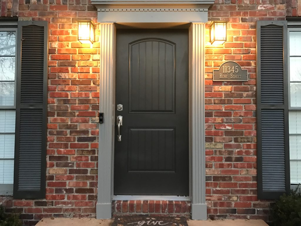 Therma Tru Arched Fiberglass Entry Door