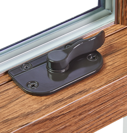 Low profile lock - latch